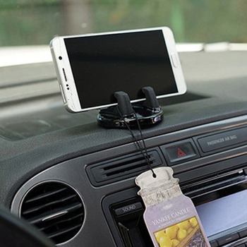 Car Silicone Anti Slip Mount Mobile GPS Adjustable Bracket For BMW m3 m5 e46 e39 e36 e90 e60 f30 e30 e34 f10 e53 f20 e87 x3 x5 image