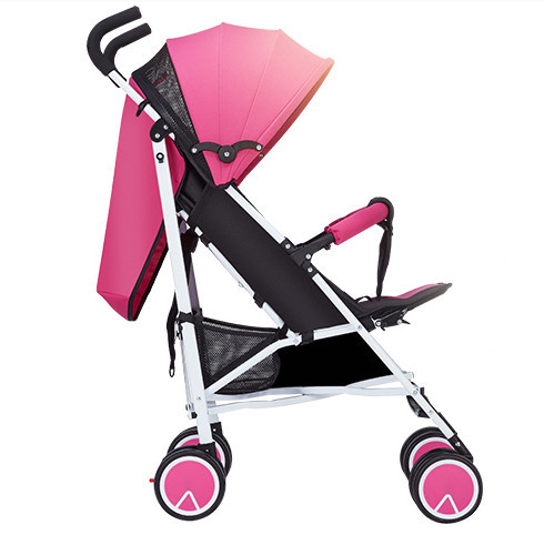 Strollers can sit or lie ultra-portable folding stroller shock baby child bb push baby carriages