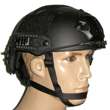Airsoft Sport Helmets Fast Base Jump Helmet Navy Seal Carbon Shell OD Green
