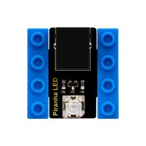 Image 3 - Kidsbits كتل الترميز سمكة البيرانا LED وميض وحدة لاردوينو البخار EDU (أسود و صديقة للبيئة)