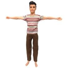 f035a2b5e7e32 NK 2019 Bir Set Prens Ken barbie bebek Için oyuncak bebek giysileri erkek  Serin Rahat moda giyim arkadaşı Ken Bebek En Iyi hediy.
