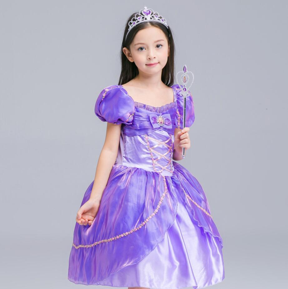 Para la muchacha 2018 nueva verano niñas princesa vestidos niños ...