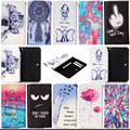 Cajas del teléfono móvil Universal de LA PU Funda de Cuero cubierta para Oukitel S5C53D K6000 2016 Estilo Soporte de Libro de Casos con ranuras para tarjetas