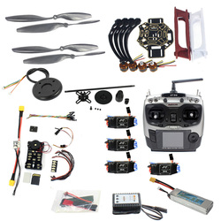 DIY FPV Drone Quadcopter 4-axle Aircraft Kit 450 Frame PXI PX4 Flight Control 920KV Motor GPS AT9S Transmitter Props F02192-AB