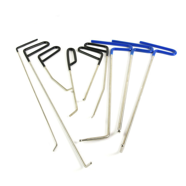 Furuix PDR Rod Hook Dent Repair Tools Auto Body Ding Dent Repair Dent Removal Paintless Dent Puller silca dent