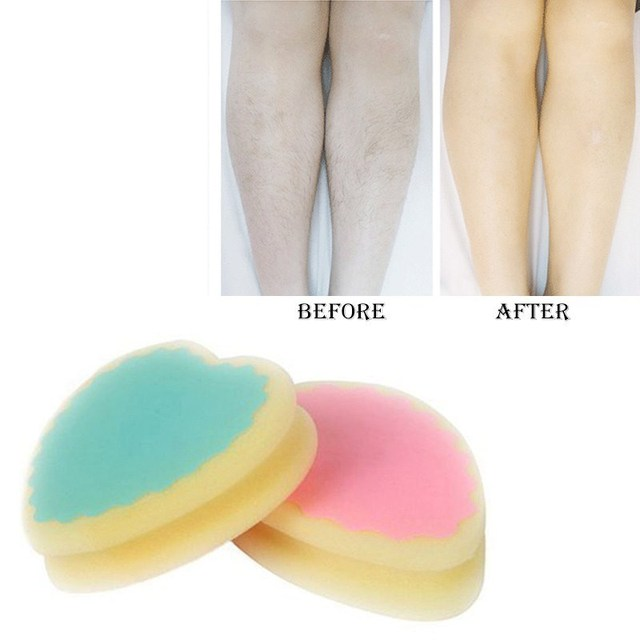 Magic Painless Hair Removal Depilation Sponge Pad - Remove Hair Remover 1