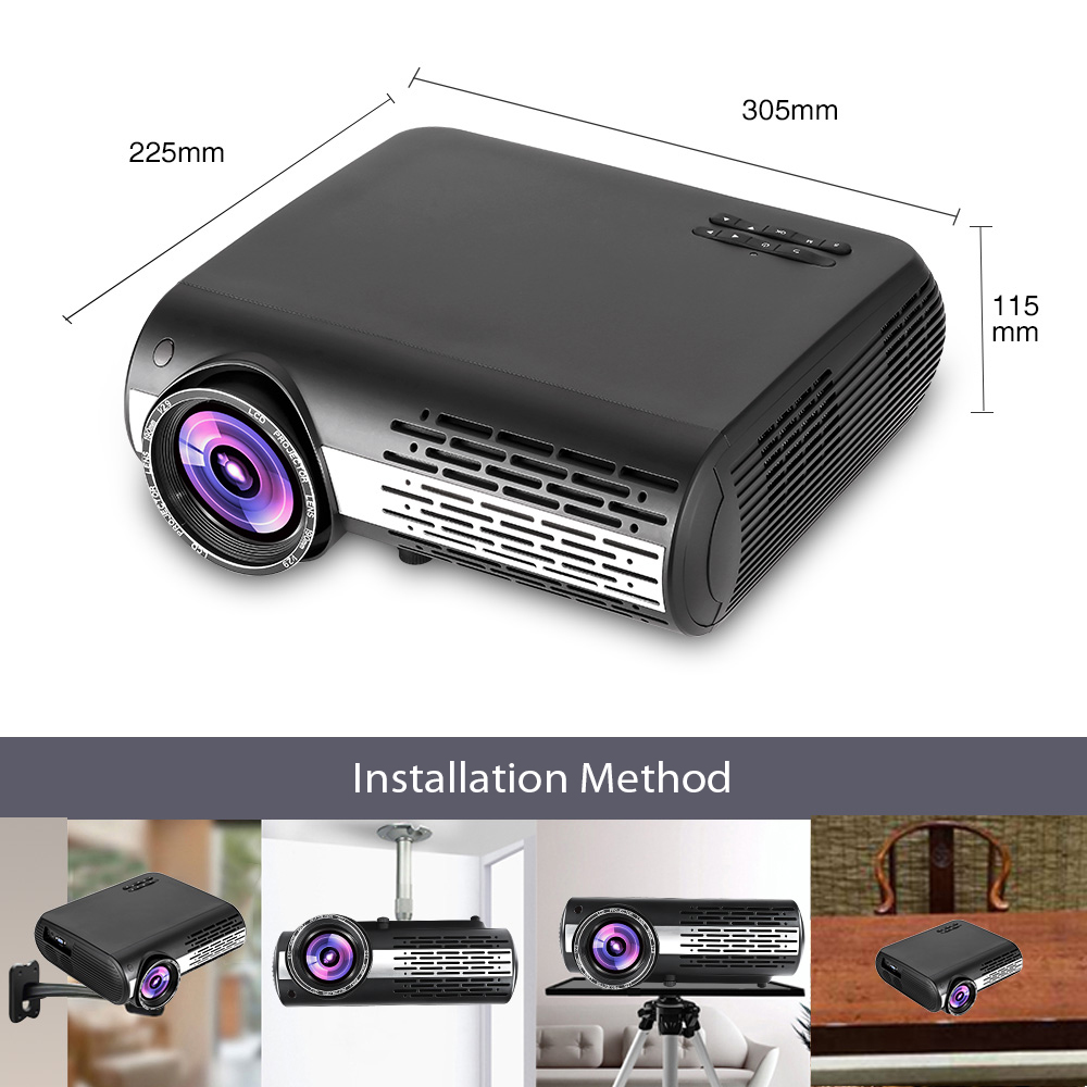 Vivicine M2 HD Home Projector (3)