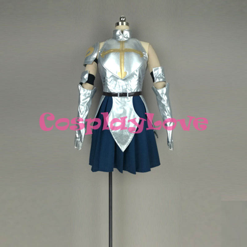 Fairy Tail: Dragon Cry Erza Scarlet Cosplay Costume High Quality Stock Cusotm Made For Halloween Christmas CosplayLove