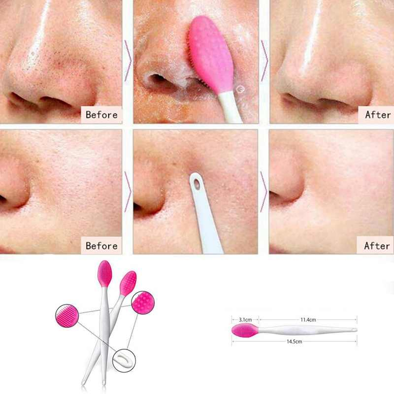 1pcs Silicone Facial Brush Cleanser Beauty Wash Face Exfoliating