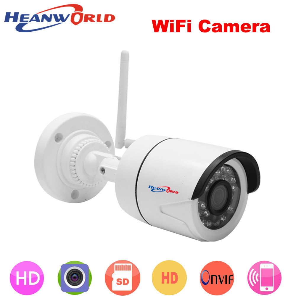 2019 Latest Design Heanworld Waterproof Ip Camera 720p Cctv Security Dome Camera Video Capture Surveillance Hd Onvif Infrared Ir Camera Outdoor Video Surveillance Security & Protection