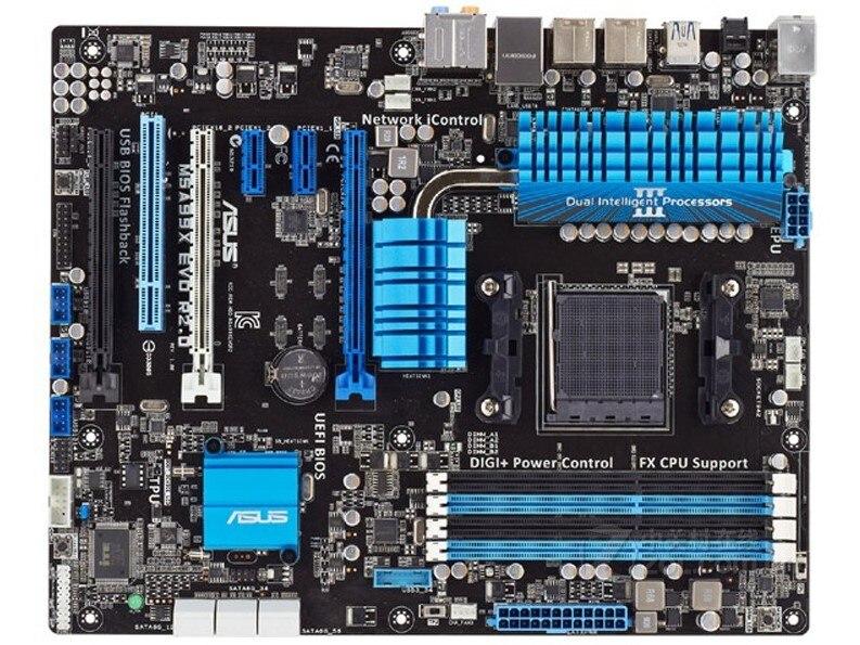 Asus M5A97 EVO R2.0 AM3/AM3+ FX quad-core eight-core USB3.0+SATA3 motherboard 85%-95%new original 960gm vgs3 fx bulldozer am3 integrated small board support open core