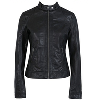 2017 Fashion New Women S Jacket European Fashion Leather Jacket Pimkie Cleaning Single PU Leather Motorcycle