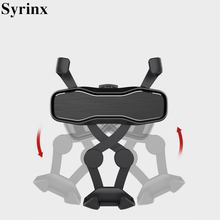 2 in 1 Air freshener Perfume Car Air Vent Gravity Bracket Phone Holder Mobile Support For iPhone X XS XR 8 Smartphone GPS Stand цена