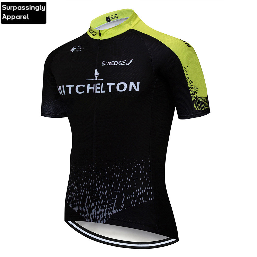 2019 Summer UCI Team Men Pro <font><b>Custom</b></font> Cycling <font><b>Jersey</b></font> Short Sleeve Cycling Shirt <font><b>Bike</b></font> Bicycle Clothes Clothing Ropa Ciclismo image