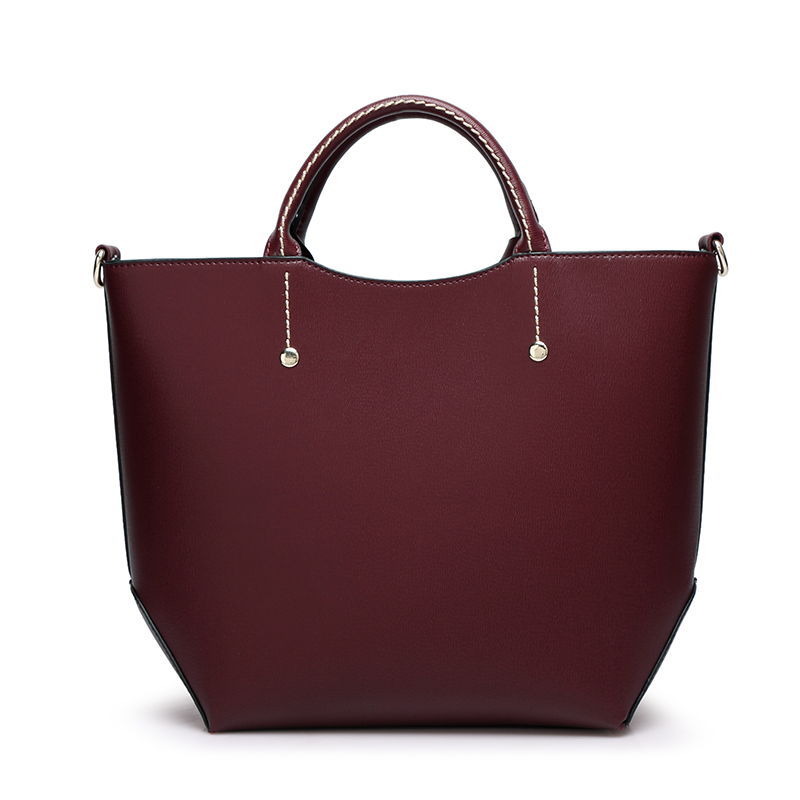 bolsa alça superior causal tote Estilo : Women Solid Color Shoulder Casual Tote Top Handle Bags Handbags Ladies