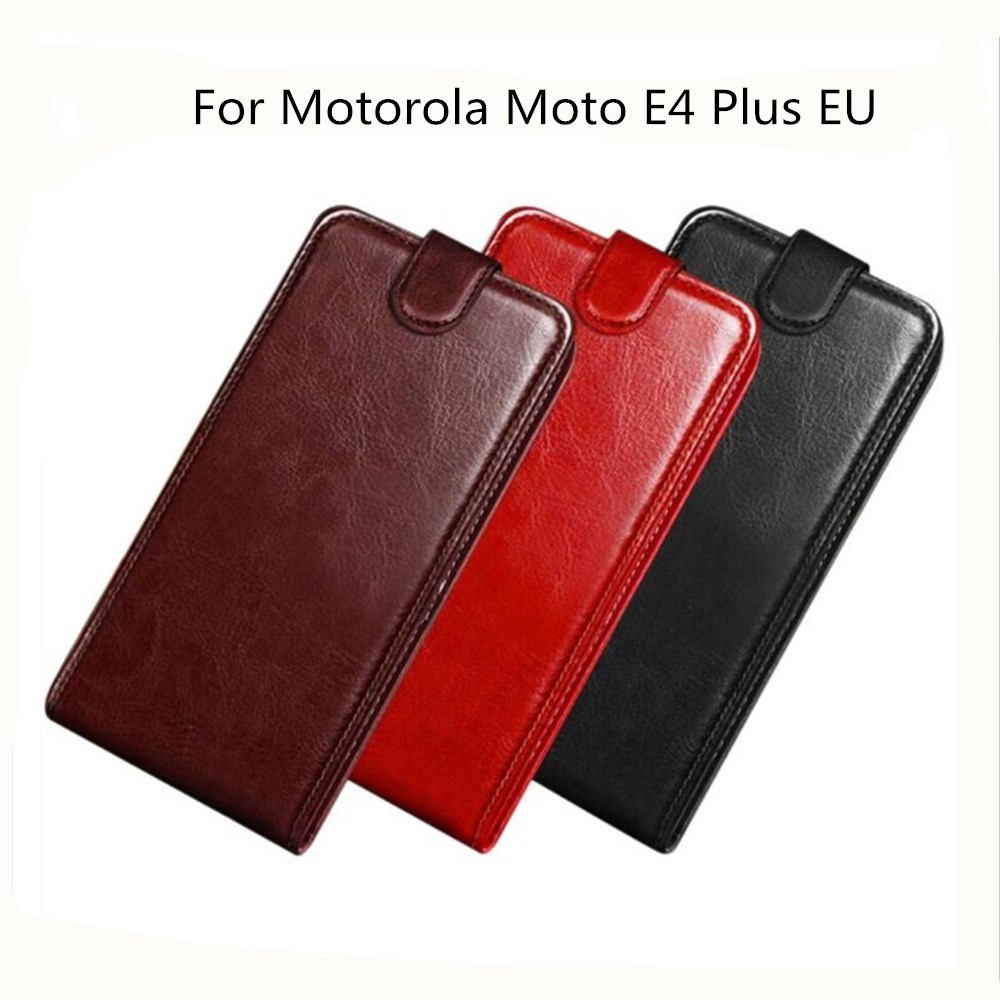 Capa Pour Motorola Moto E4 Ainsi Que L'UE Cas PU En Cuir Retour couverture de Cas de Téléphone Pour Motorola Moto E4 Plus MT6737 XT1773 XT1771 Fundas