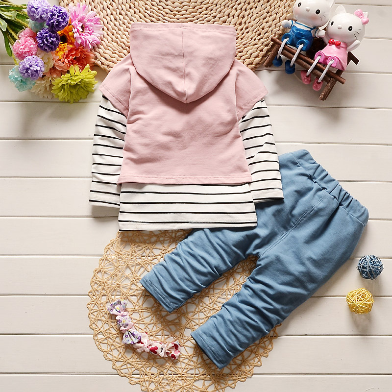 In the spring of 2019 with virgin suit tide tong 0 to 3 years old cotton private patch three piece suit in Clothing Sets from Mother Kids