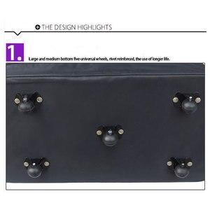 Image 5 - 2019 LEINASEN wholesale ultra light luggage travel bag large capacity universal wheels retractable folding tug box luggage bag