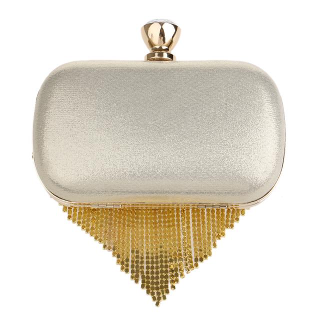 Tassel Rhinestones Clutch Beading  Evening Bags