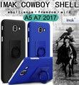 Imak cowboy fosco protector case capa para samsung galaxy a5 2017 shell a7 2017 a720f a520f matte anti-impressão digital