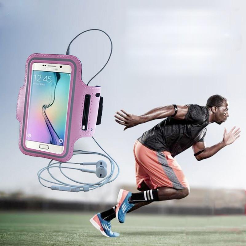 """6 """"del Sacchetto Di Sport Corsa E Jogging Fascia Da Braccio Impermeabile Per Xiaomi 5x A1 5 S Nota Max 2 Redmi Nota 4 4x3 5a Redmi 4x5, Più Copertura Del Telefono Custodie"""
