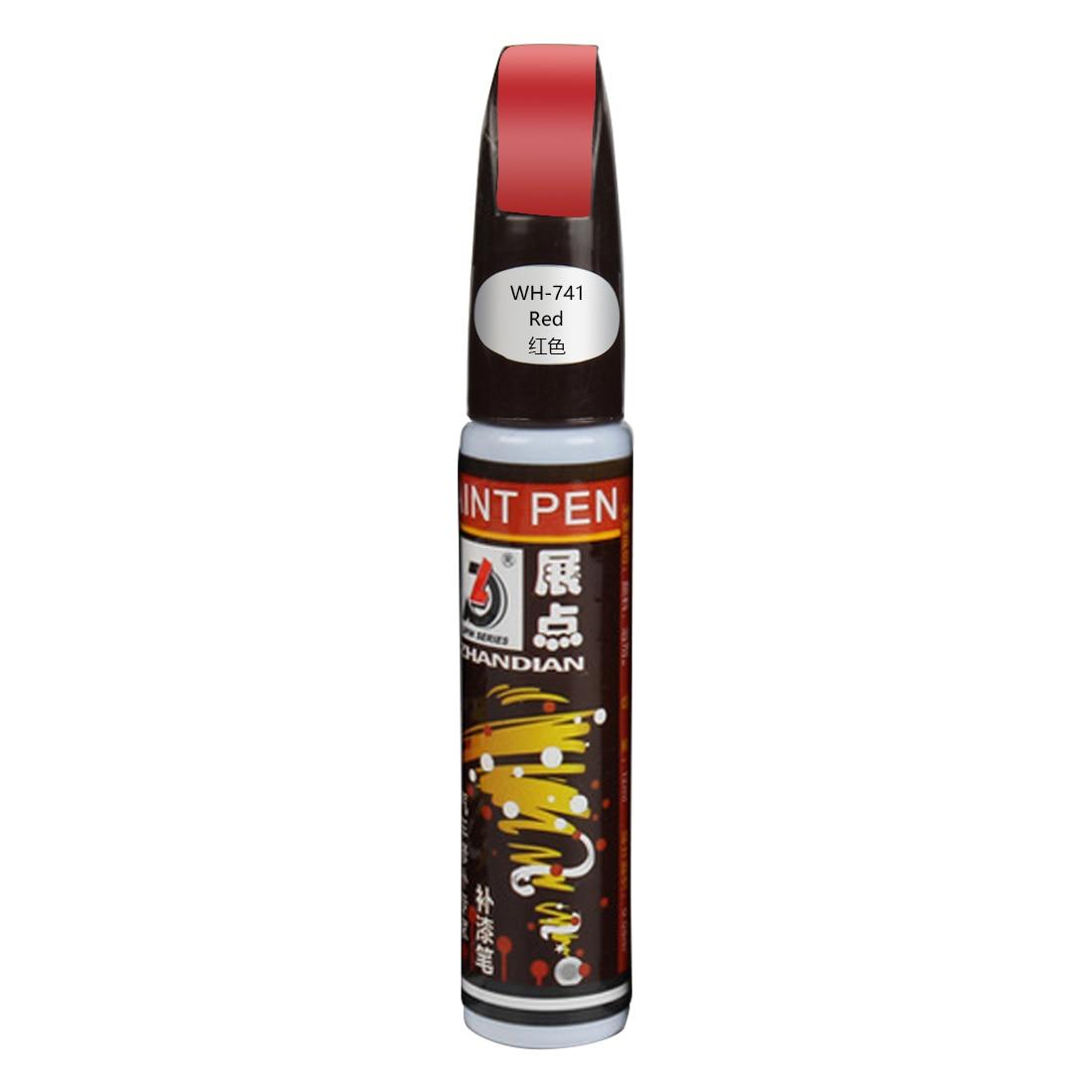 Новая Автомобильная сенсорная ручка, водостойкая удаляющая аппликатор, утилита, профессиональная автомобильная куртка, очищающая от царапин, для ремонта, окрашивающая ручка, сенсорная - Цвет: red