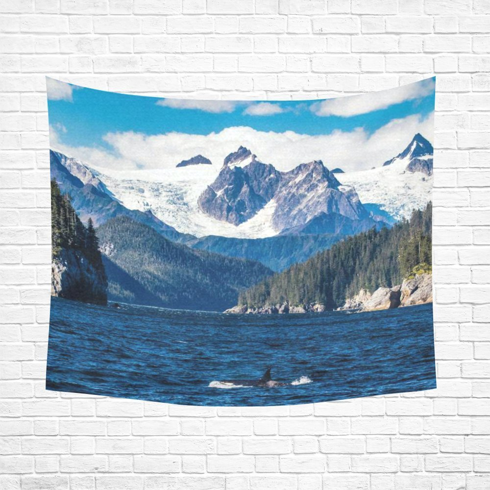Admirable Nature Landscape Alaska Home Decor Wall Art Mountain Forest Home Interior And Landscaping Ologienasavecom