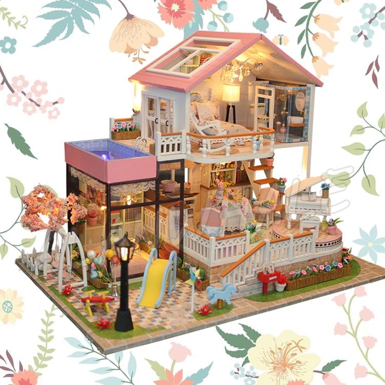 Flower Garden Miniature Dollhouse Doll House Picture