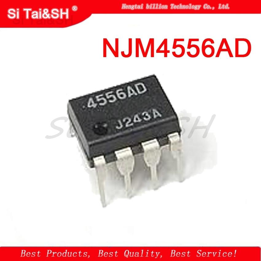 1PCS  NJM4556AD JRC4556AD NJM4556  DIP8