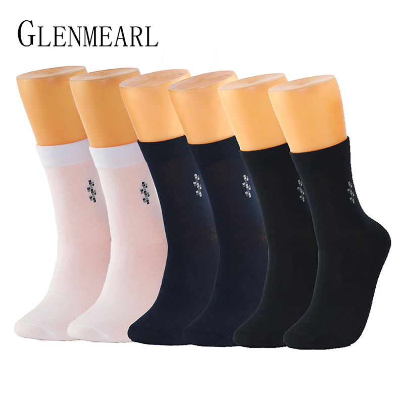Bamboo Fiber Men   Socks   New Casual Soft Anti-Bacterial Deodorant Breathable Solid Color Summer Long Crew   Socks   For Men Plus Size