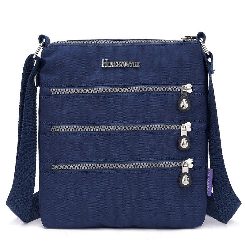New Women Messenger Bags For Women Waterproof Nylon Handbag Female Shoulder Bag Ladies Crossbody Bags Tote Bolsa Sac A Main