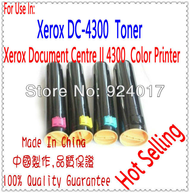 Color Cartridge For Xerox 4300 Toner,Use For Xerox Document Centre II 4300 Color Laser Printer,Use For Xerox DC-II 4300 Toner ct350823 ct350826 drum cartridge chip for xerox docucentre iv c2260 c2263 c2265 color laser printer toner jp version for japan