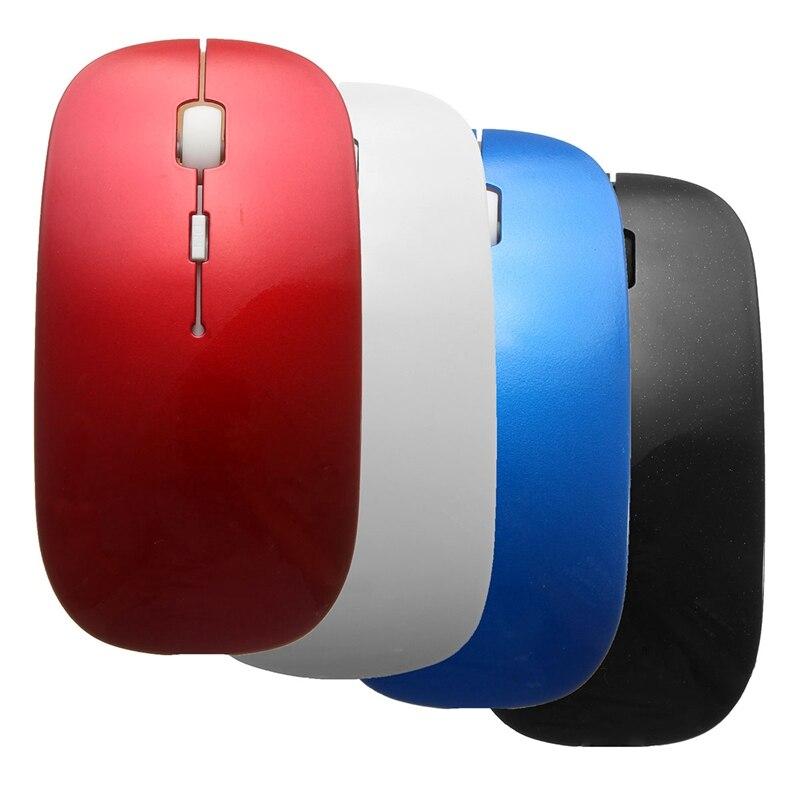 Новый ультра тонкий Bluetooth 3.0 Беспроводной Мышь Портативный 1800 Точек на дюйм офис игровой Мыши компьютерные для Оконные рамы компьютера PC ноу... ...