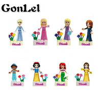 A Toy A Dream Friends Series Building Blocks Princess Compatible with Friends for Girl 8pcs Legoingly Bricks Toys