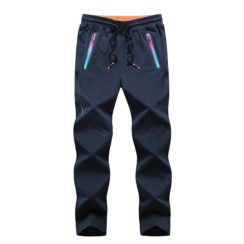 Hommes 5XL 6XL 7XL 8XL grande taille pantalon de survêtement Zip couleur Sport pantalon automne hiver skateboard course Jogging pantalon d'entraînement