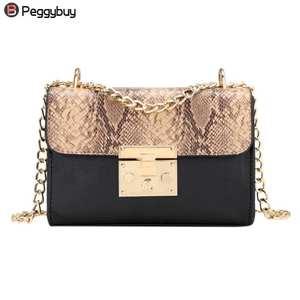 016840f462eb pb Peggybuy Shoulder Bags leather Handbags Women Designer