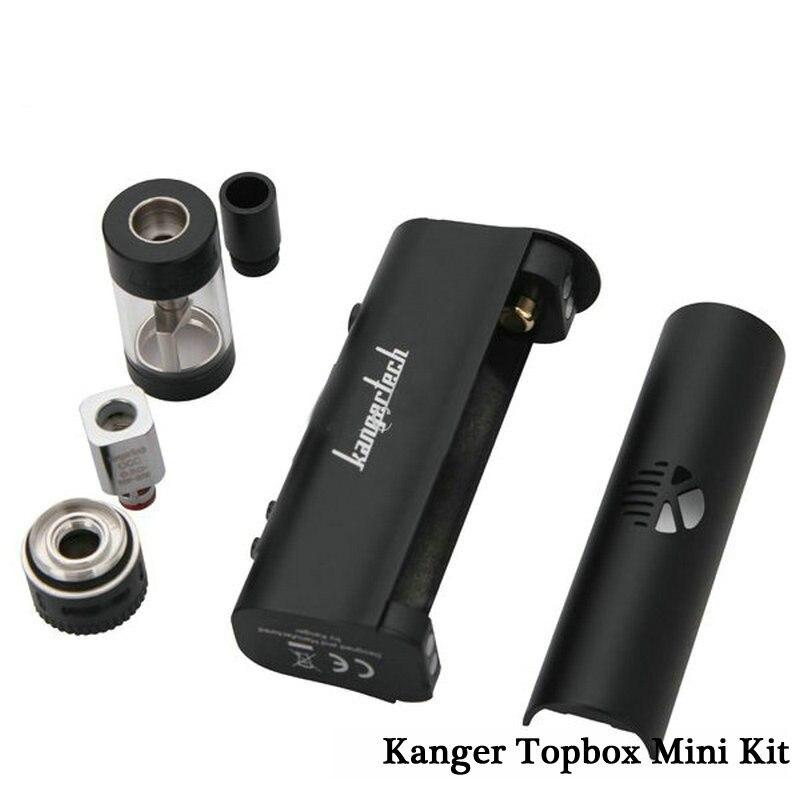 Original Kanger Topbox Mini Kit 4ML Toptank Kbox Mini TC 75W Pro Temperature Control Kit e-cigarette brosvapor (7)_