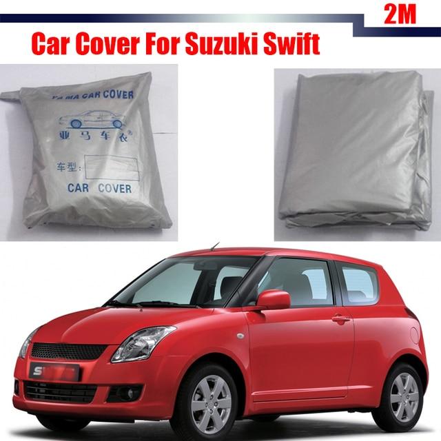 Cubierta del coche Parasol Cubierta del Protector Anti UV Lluvia Nieve Resistente A Prueba de Polvo Para Suzuki Swift