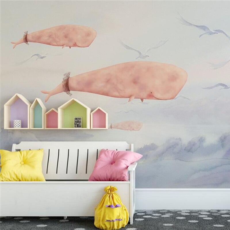 Рельефные 3D обои на заказ фото настенные фрески дети мультфильм узор для гостиной спальня фон настенные бумаги домашний декор