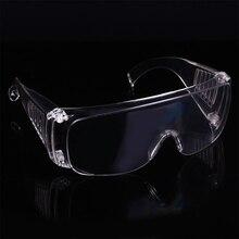 47d56cb433 A prueba de viento Anti polvo transparente resistente al ojo gafas de  protección gafas de seguridad