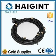 0084 15m black low pressure misting kit system for Dedusting
