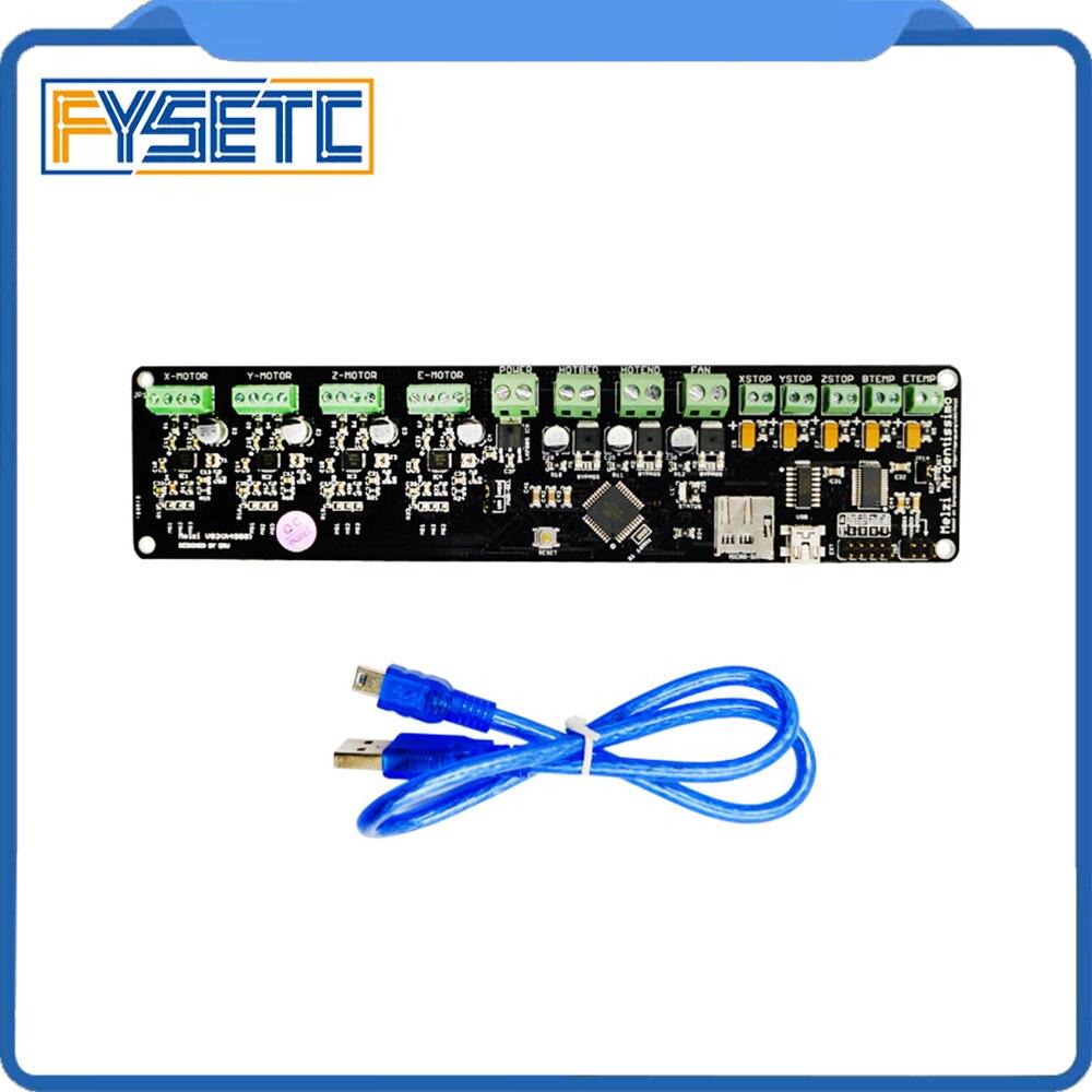 3D panneau de commande de l'imprimante DIY kit partie tronxy Melzi 2.0 1284 P 3D IMPRIMANTE PCB CONSEIL IC ATMEGA1284P accessoires avec 12864 LCD