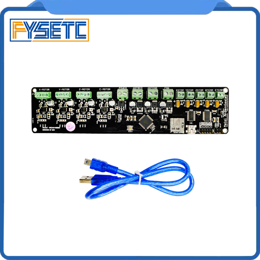 3D printer control board DIY kit part tronxy Melzi 2.0 1284P 3D PRINTER PCB BOARD IC ATMEGA1284P accessories with 12864 LCD melzi 1284p