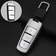 Auto Key Cover Car Styling Zinc alloy Case For Volkswagen CC Passat B6 B7 2019 Maogotan R36B5B7L