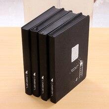 Черная бумага, внутренний блокнот 96 листов, 32k 128*186 мм, альбом в стиле звездного неба