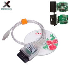 MINI VCI J2534 FOR TOYOTA TIS Techstream V14.10.028 OBD2 Diagnostic Cable MINIVCI FTDI FT232RL Chip MINI-VCI Interface Scanner