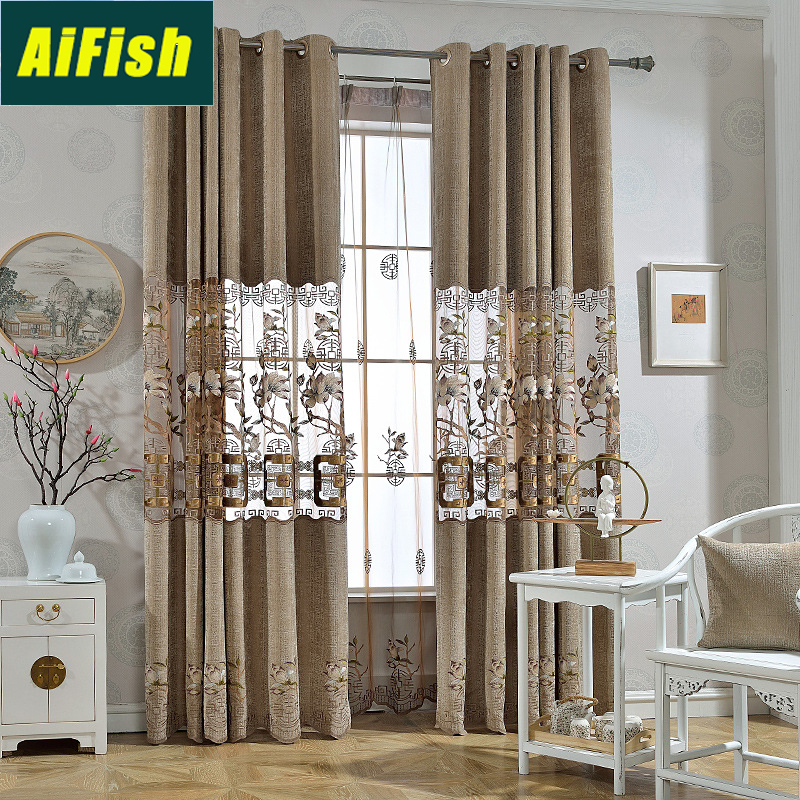 Home & Garden Symbol Of The Brand Curtains Factory Direct Selling Price
