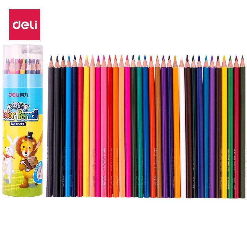 Deli Lapislázuli De Cdr Lápices De Color Lapices De Colores Profesionales Dibujo De Color De Madera