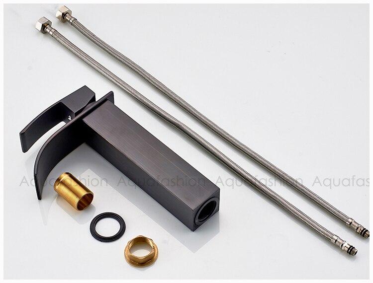 black chrome golden bathroom faucet (26)