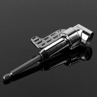 1 4 Hex Shank Power Magnetic Bit Angle Driver Screwdriver Bits Holder W Keyless Drill Bit